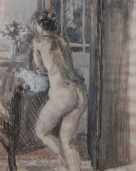 big standing nude