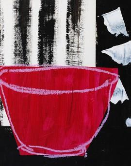 Jenny Balmer_Magenta bowl with black and white_EDITED LR