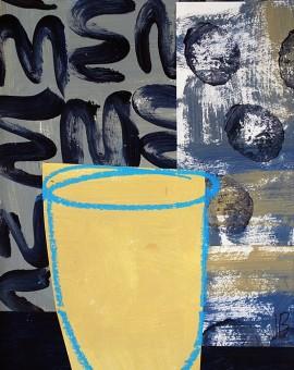 Jenny Balmer_Sand vase with sage and black_EDITED LR