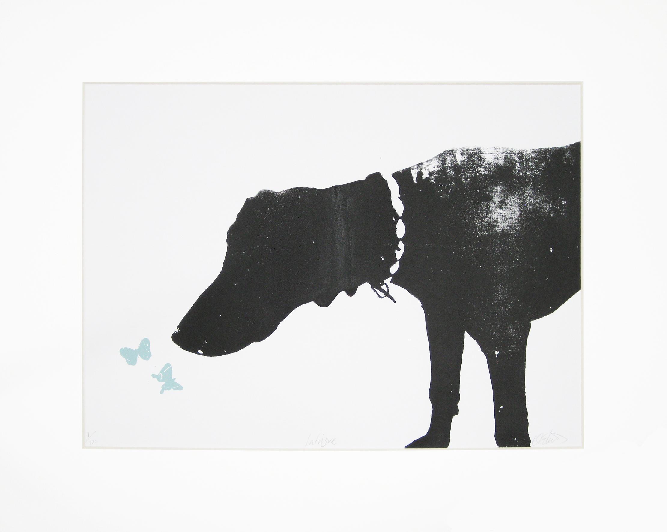 Katie Edwards-Intrigue-Screen print