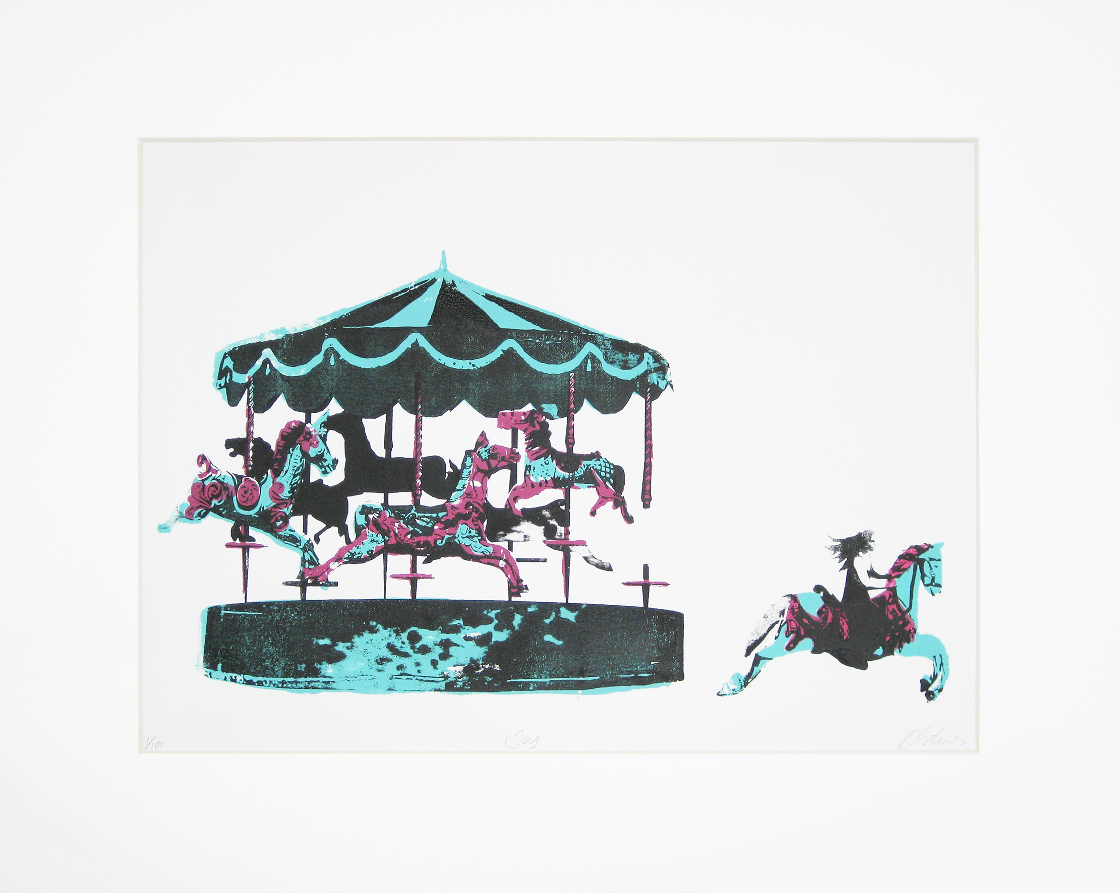 Katie Edwards-Joy-Screen print