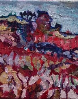 Doochill North- oil on canvas 2015- 20cm x 20cm