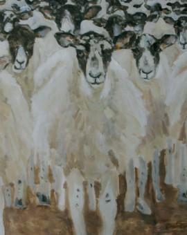 Flock Painting