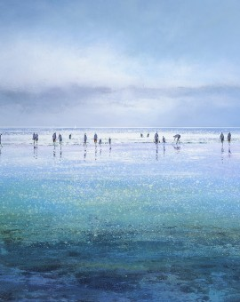 Sparkling Beach limited edition print by Michael J Sanders
