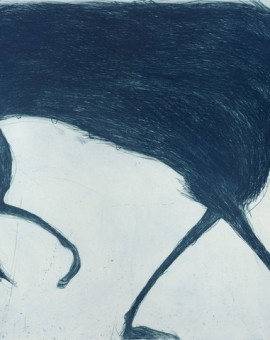 Blue Wolf, Kate Boxer, Wychwood Art