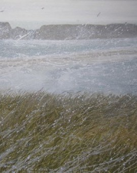 Shetland St Ninians Isle pictish treasure Judith Yarrow print painting