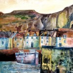 Anya Simmons-Fishing Harbour-Limited Edition Print-Wychwood Art