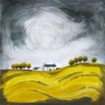 Anya Simmons-Golden Fields-Open Print-Wychwood Art