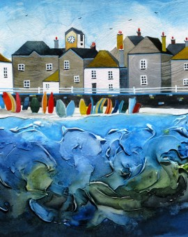 Anya Simmons-Mousehole-Original-Wychwood Art
