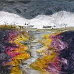 Anya Simmons-Off Road Cottages 3-Open Print-Wychwood Art