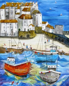 Anya Simmons-St Ives-Limited Edition Print-Wychwood Art
