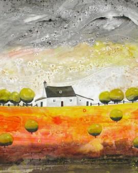 Anya Simmons-Tudweiliog Cottage-Open Print-Wychwood Art