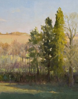 annadennis_AfternoonMarridgeHill_whychwoodart_landscapepainting