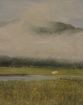 Judith Yarrow Mongolia- Early Morning Mist Wychwood art