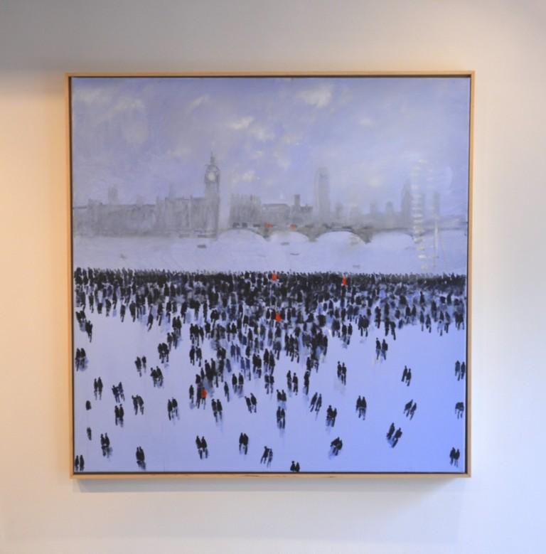 David Wheeler City Skyline Wychwood art