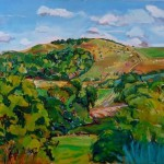 Phyliss Wolff Midsummer Hill Wychwood art