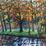 Phyliss Wolff Stourhead Reflections I Wychwood art