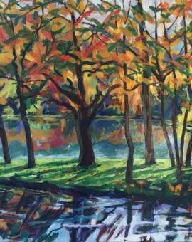 Phyliss Wolff Stourhead Reflections I Wychwood art