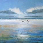 Michael Sanders An Afternoon Stroll Wychwood Art