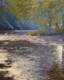 Jenny Aitken Light on the Derwent Wychwood Art