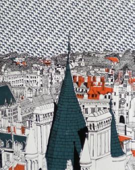 Clare Halifax Cambridge Rooftops Wychwood Art