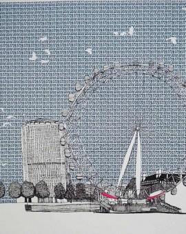 Clare Halifax London Eye Wychwood Art
