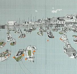 Clare Halifax Penzance Harbour Wychwood Art