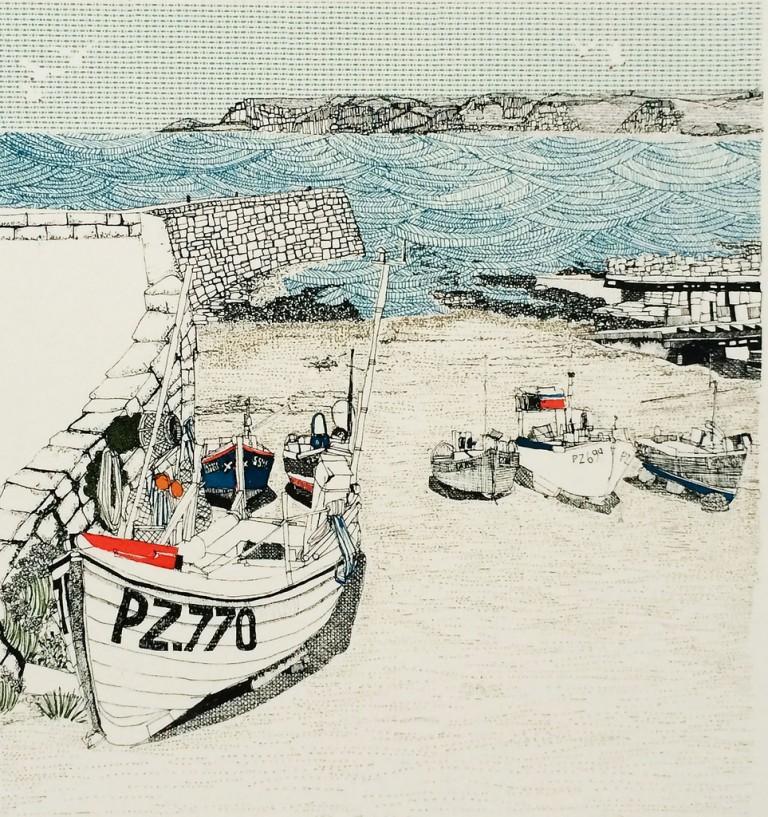 Clare Halifax Sennen Cove Wychwood Art
