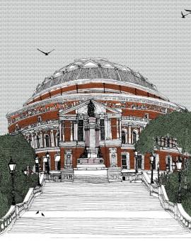 Clare Halifax Stairway to Royal Albert Wychwood Art