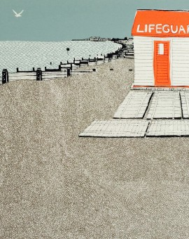 Clare Halifax Whitstable Lifeguard Wychwood Art