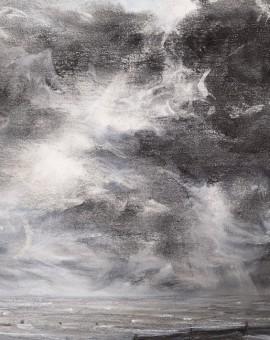 Sarah Spencer Clouded Seascape Wychwood Art