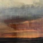 Davis Scott Moore South Downs Sunset-Scarlet II Wychwood Art