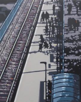 Gordon Hunt St Ives Station Sunshine