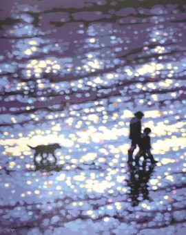 Gordon Hunt Winter Afternoon Beach Walk
