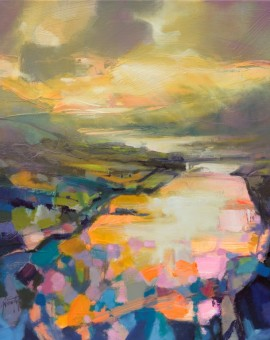 Scott Naismith Light On Loch Leven Wychwood Art