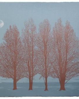 Anna Harley Blue Moon Wychwood Art