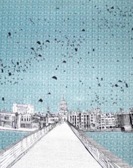 Clare Halifax Bridge to St Pauls London scenes copy