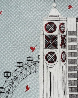 Clare Halifax Oxo and Eye London screen prints