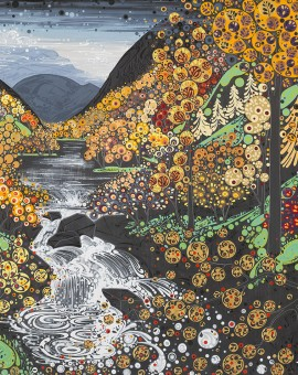 Katie Allen Autumn Betws y Coed buy art online