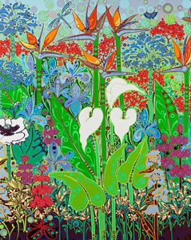 Katie Allen Botanical Gardens Summer colourful prints