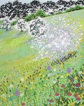 Katie Allen Hawthorn Spring Meadow countryside prints