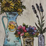 Vicky Oldfield, Summertime, Wychwood Art, Original Print, Royal Academy Summer Exhibition Artist