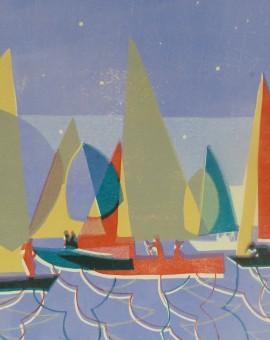 sailing at dusk lisa