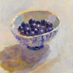 Lynne Cartlidge Blueberries Still life copy