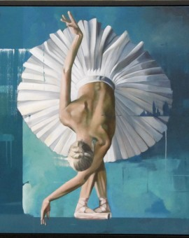 Pete Hawkins Ballerina 1 Wychwood art