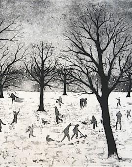 Tim Southall. Everybody Loves Snow.Wychwood Art
