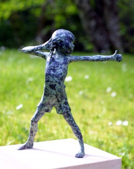 Alison Bell Surrender Bronze sculpture