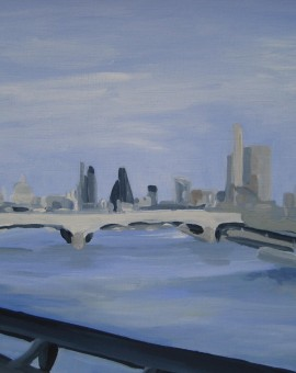 Sarah Adams City Skyline Wychwood Art