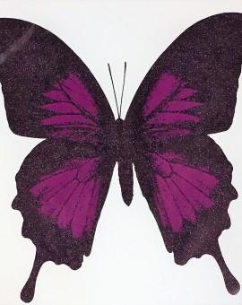 Aubergine Butterfly - WychwoodArt