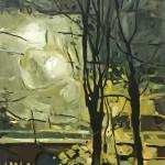 Elaine Kazimierczuk November Lamplight II Wychwood Art